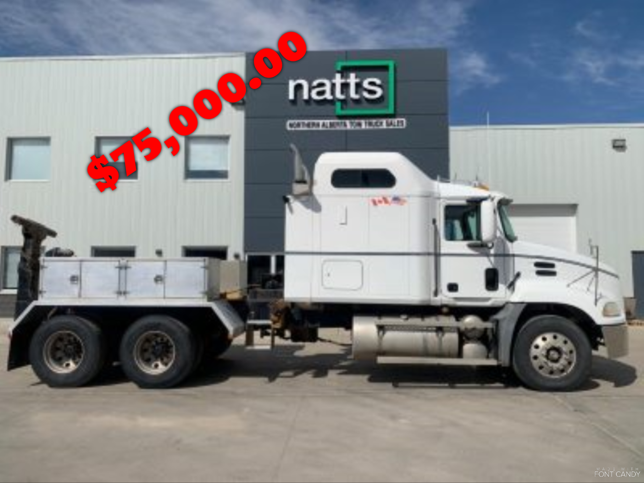 2002 MACK CX613 W/ FIXED ZACKLIFT Z403 K11 STOCK# 2279