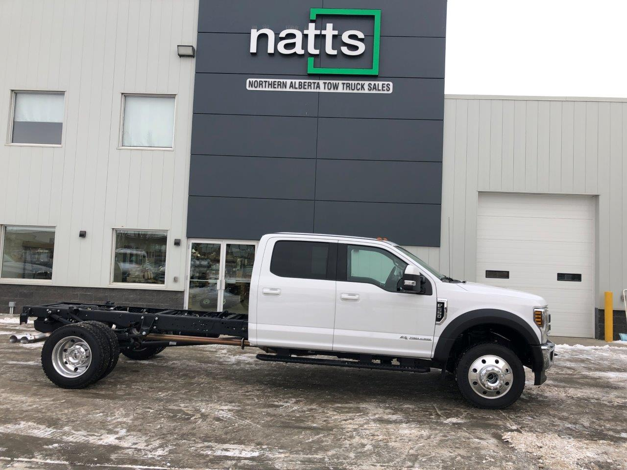 2018 F550 4X4 CREW CAB & CHASSIS STOCK#2268