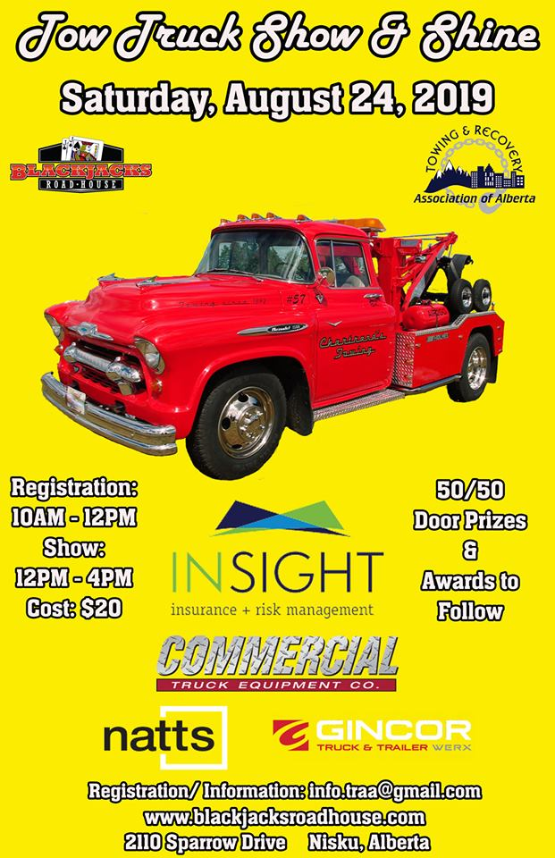 Towing and Recovery Association of Alberta Show and Shine