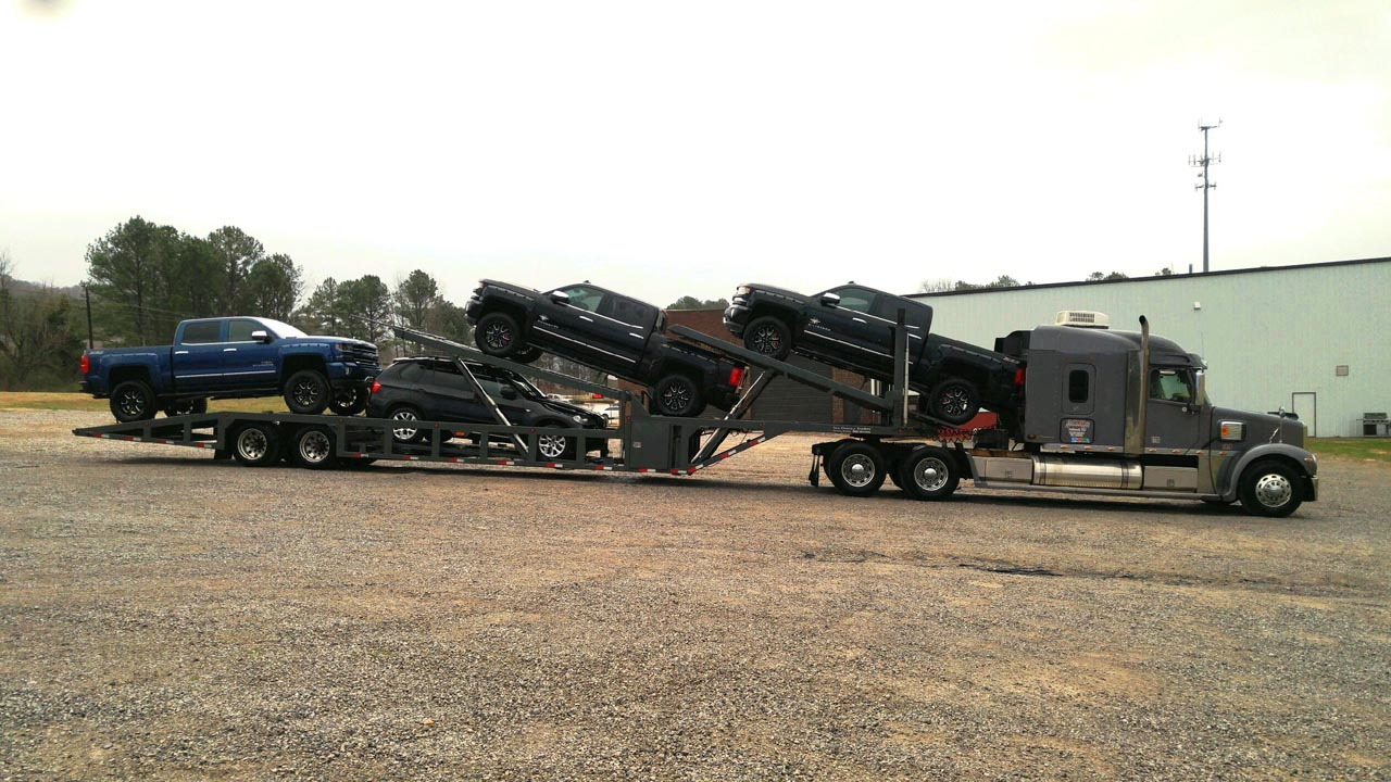 Sun Country 53′ Next Gen Lo-pro 5 Car Hauler