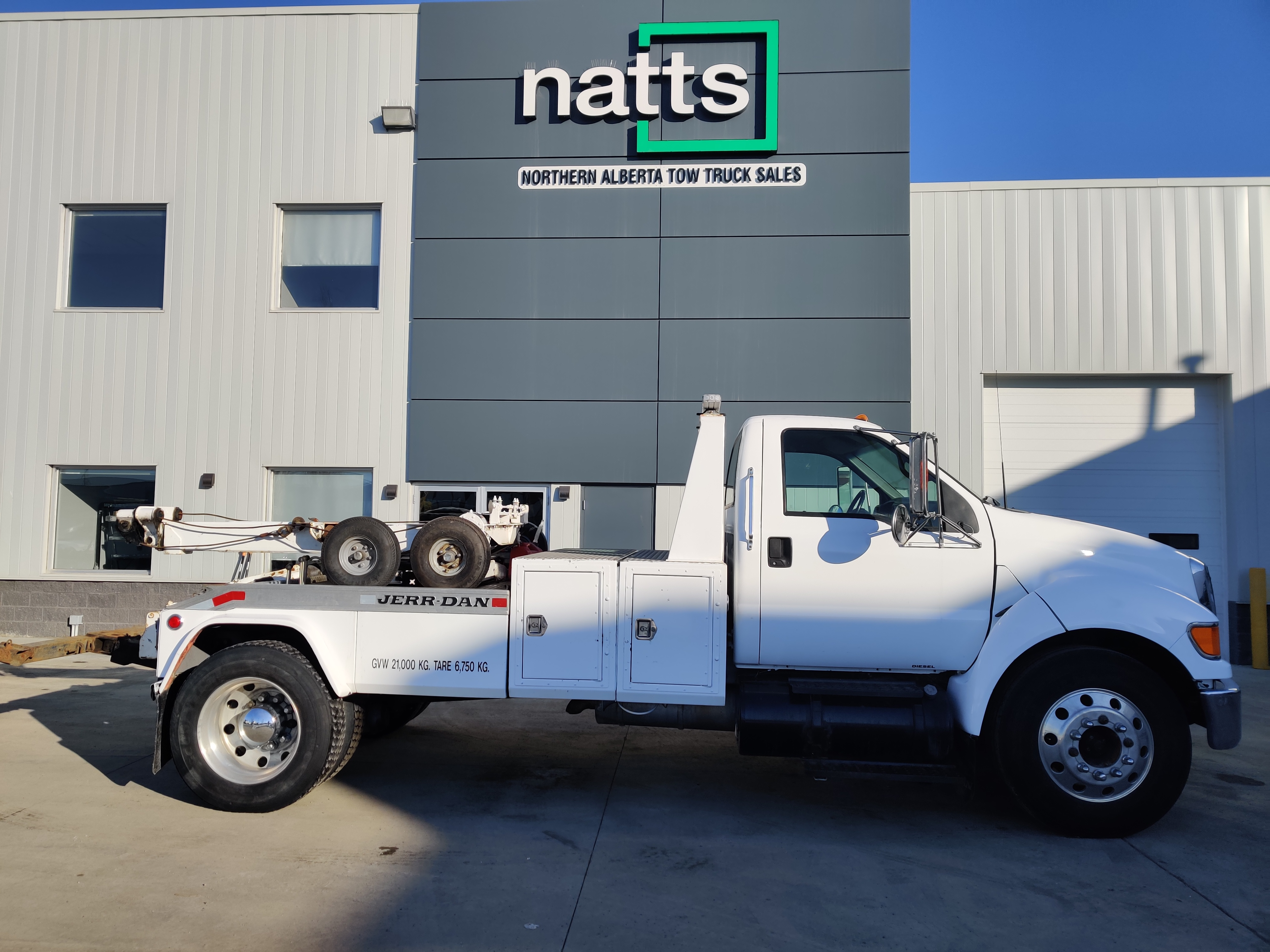 2005 FORD F650 W/ JERRDAN WRECKER – STOCK#2491