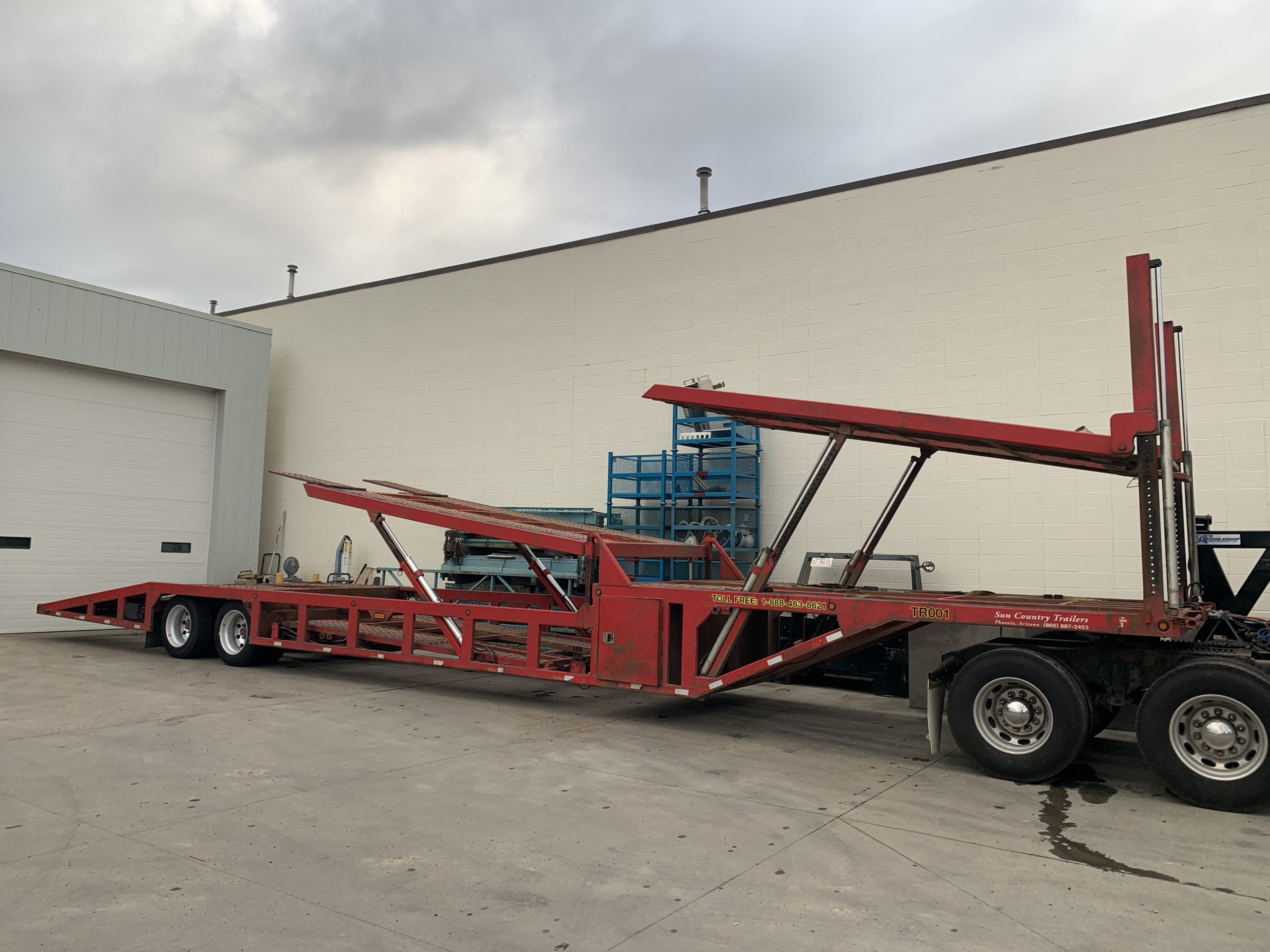 2015 SUN COUNTRY 53′ NEXT GEN 5 CAR HAULER – STOCK#2558